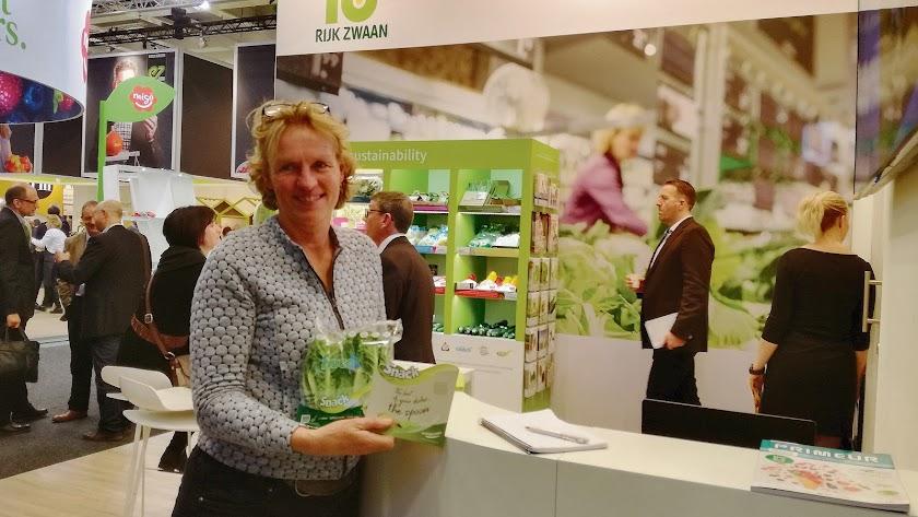 Heleen Bos, responsable de Márketing, Orgánicos y Desarrollo de Proyectos destaca el compromiso por la comida sana y la sostenibilidad.