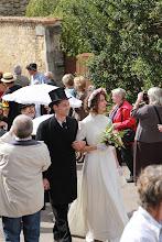 Photo: Tiens un mariage ...