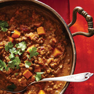Squash and Lentil Curry.