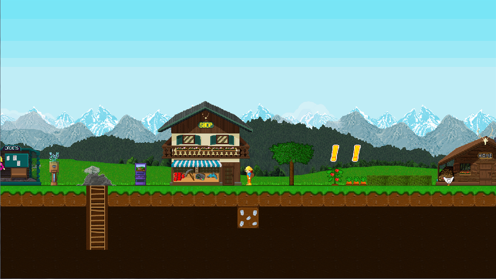 Treasure Miner 2- screenshot