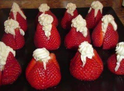 Stuffed Strawberries Recipe