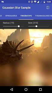 Gaussian Blur (Sample)- screenshot thumbnail
