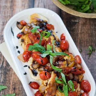 Tomato, Basil, and Balsamic Chicken.