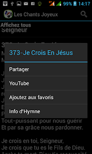 French Hymn Lyrics- screenshot thumbnail