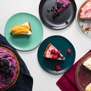No-Bake Cheesecake with Freeze-Dried Fruit.
