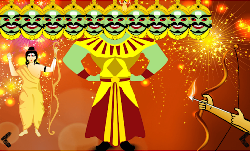Dussehra greeting card maker apps on google play screenshot image m4hsunfo