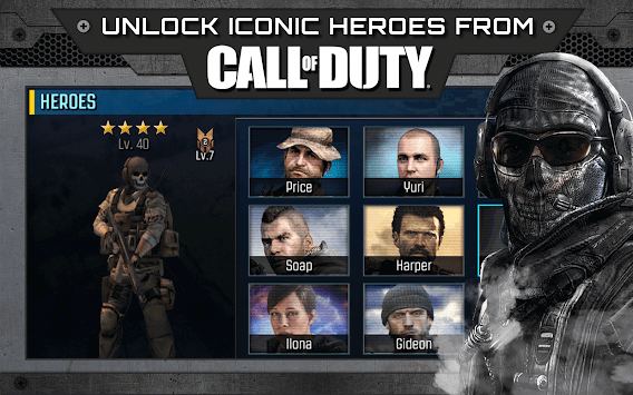 Call of Duty®: Heroes APK screenshot thumbnail 1