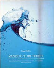 """Photo: """"Vanduo turi tekėti"""". Autorius: Linas Poška. Leidėjas: AB """"Klaipėdos vanduo"""""""