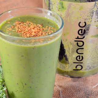 Favorite Fall Green Smoothie.