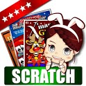 Lotto Scratch Off -Illustrator icon