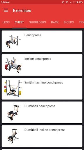 SmartFit - Gym Personal Trainer, Strength training  screenshots 7