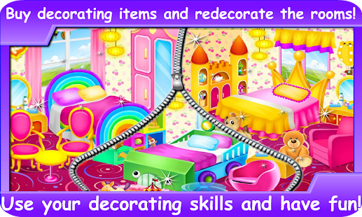 Princess Room Decoration Games Screenshot