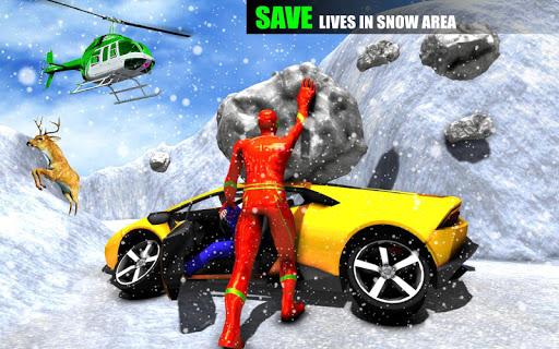 Spider Rope Hero Man screenshot 5