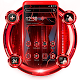 Black Red Tech Future Theme APK
