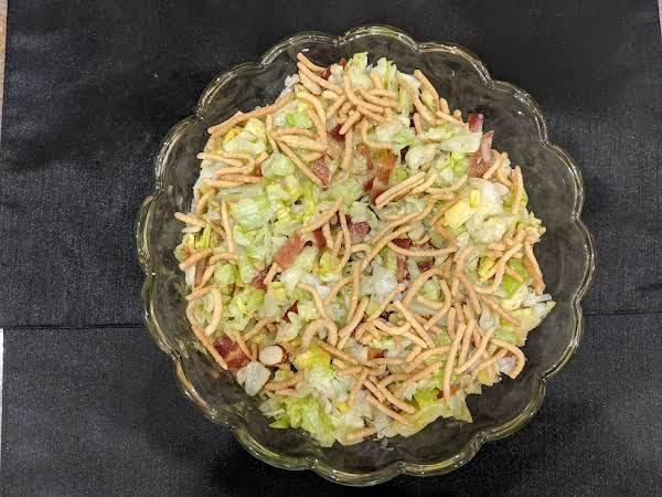 Crunchy Chopped Salad Recipe