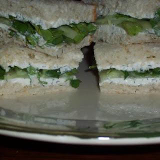 Cucumber & Watercress Sandwich