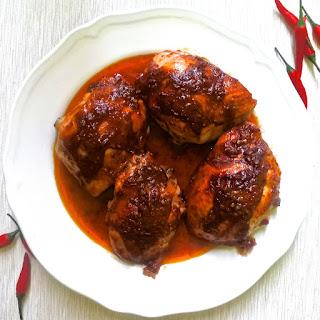 Piri Piri Chicken Thighs.