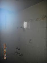 Photo: GF LHS Bathroom - top ceiling was broken . Why ? To repair. - D-41, P-3 GNOIDA, Built by Nanak Builders, Mr. Virender Batra