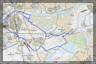 Photo: 31.05.2012 - Ingo Radler Tour nach Ernsgaden : GPS Aufzeichnung auf GPSies.com >> http://72g.de/KYi