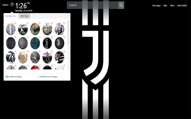 Juventus Wallpapers Theme New Tab