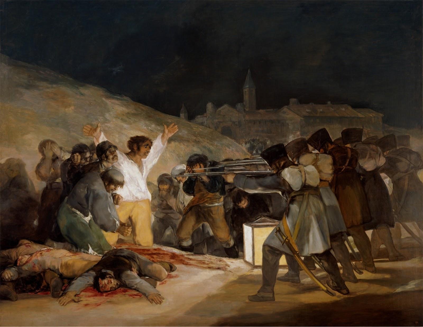 Περιγραφή: «Η 3η Μαΐου του 1808»