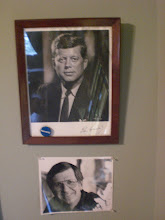 Photo: My office wall (2009) = my inspiration and smiles from Dad
