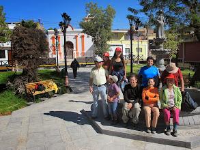 Photo: En la plaza de Yumina IV Paucarpata - Yumina - Sabandia