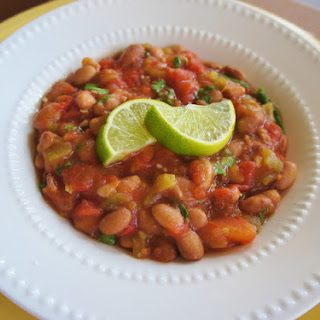 "Recipe for Slow Cooker Vegan Fiesta ""Baked"" Beans"