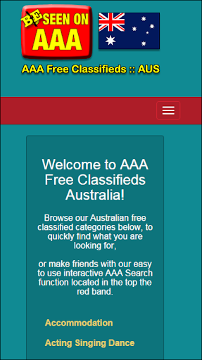 AAA Free Classifieds AU