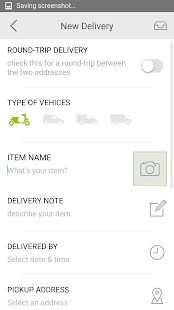 Qdee - on demand delivery- screenshot thumbnail