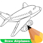 How To Draw Airplanes APK icon