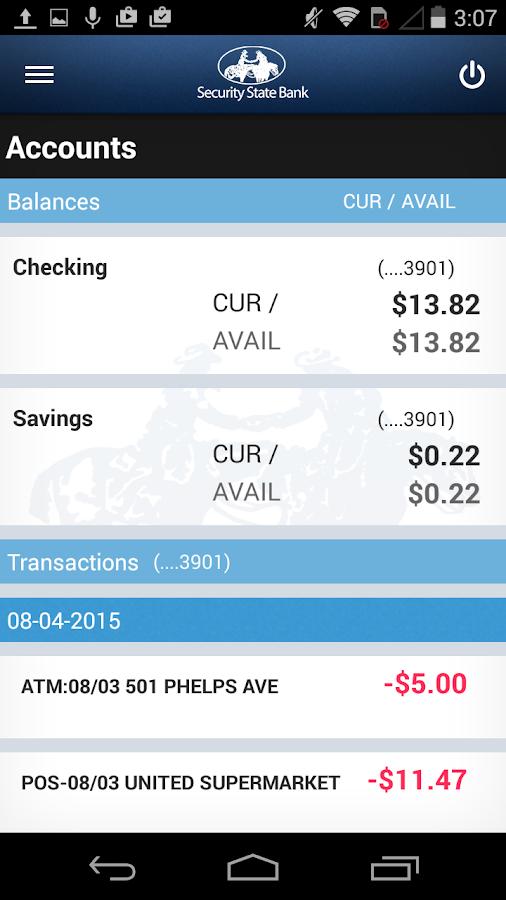 Security State Bank- screenshot