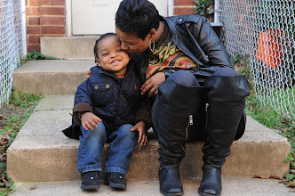 Photo: Crystal Skipwith, with son Christian Brown, 2, plans to adopt a family through the Postal Service's Letters to Santa program. Photo by H. Darr Beiser, USA TODAY.