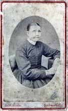 Photo: Dammen. Lovisa Andersson, född vid Ingelsdal i Ingelshyttan 1814 död 1887