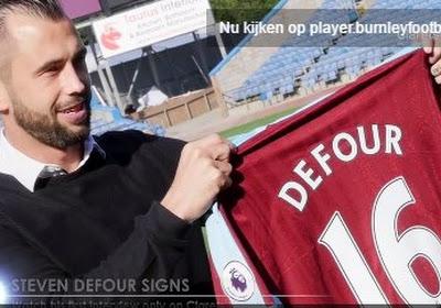 Steven Defour déjà titulaire avec Burnley