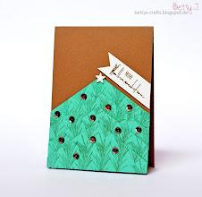 Photo: http://bettys-crafts.blogspot.com/2014/11/frohe-weihnachten.html