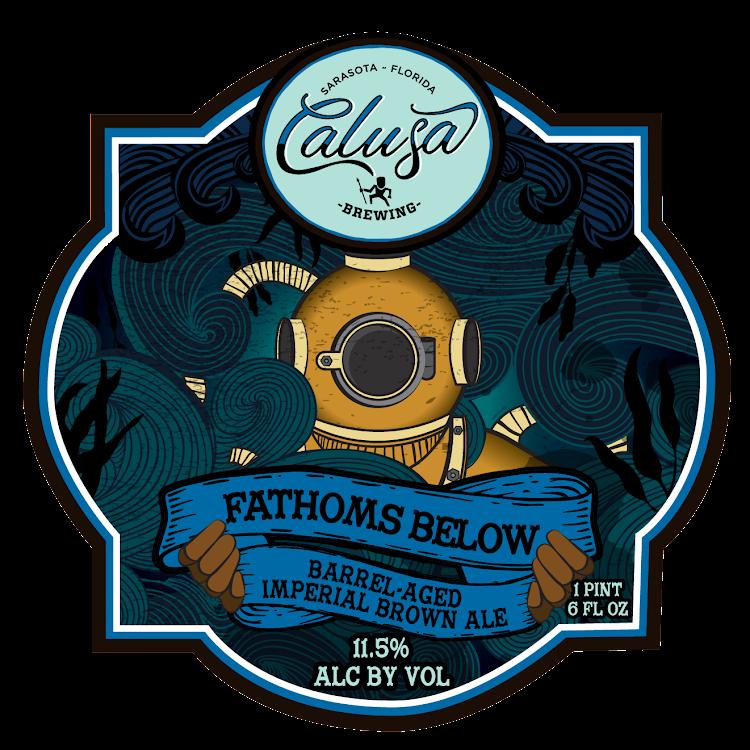 Logo of Calusa Fathoms Below