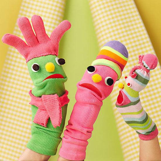 Sock Creature Puppets | Parents