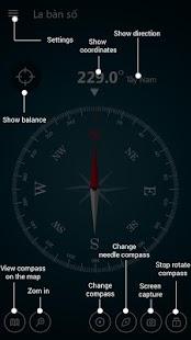 Compass Maps Pro - Digital Compass 360 Free Screenshot