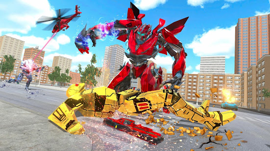 Download Super Horse Robot Transform: Flying Helicopter For PC Windows and Mac apk screenshot 1