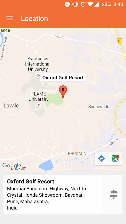 Oxford Golf Resort- screenshot