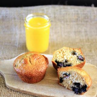 Lemon Blueberry Coconut Muffins