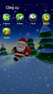 X-mas Santa eTheme Launcher screenshot 4