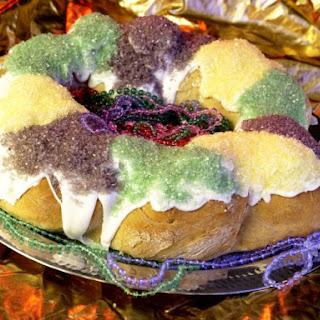 Official Mardi Gras King Cake.