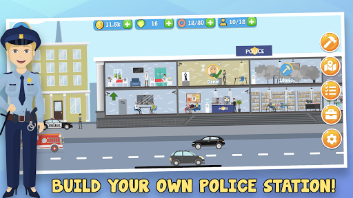 Police Inc: Tycoon police station builder sim game 1.0.14 androidappsheaven.com 1