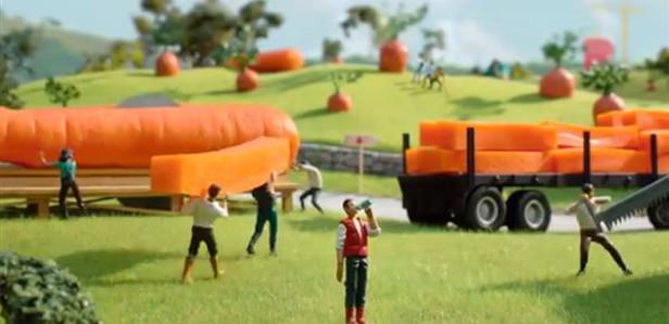 В рекламе McDonald's использовали 3D-печать и покадровую анимацию