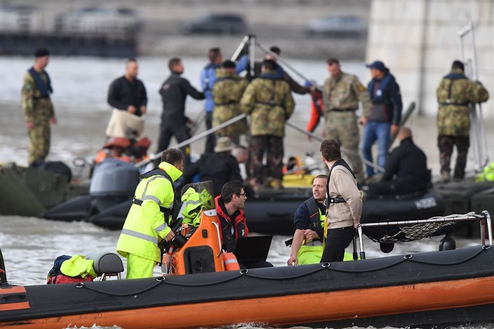hungary ferry accident bts rm 1