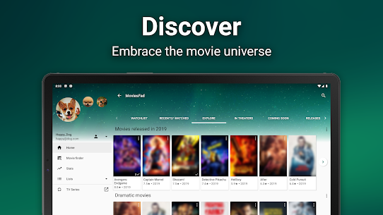 MoviesFad – Your movie manager App Download For Android 9