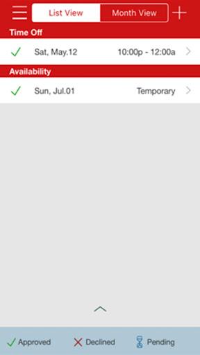 Cvs Employee Schedule App