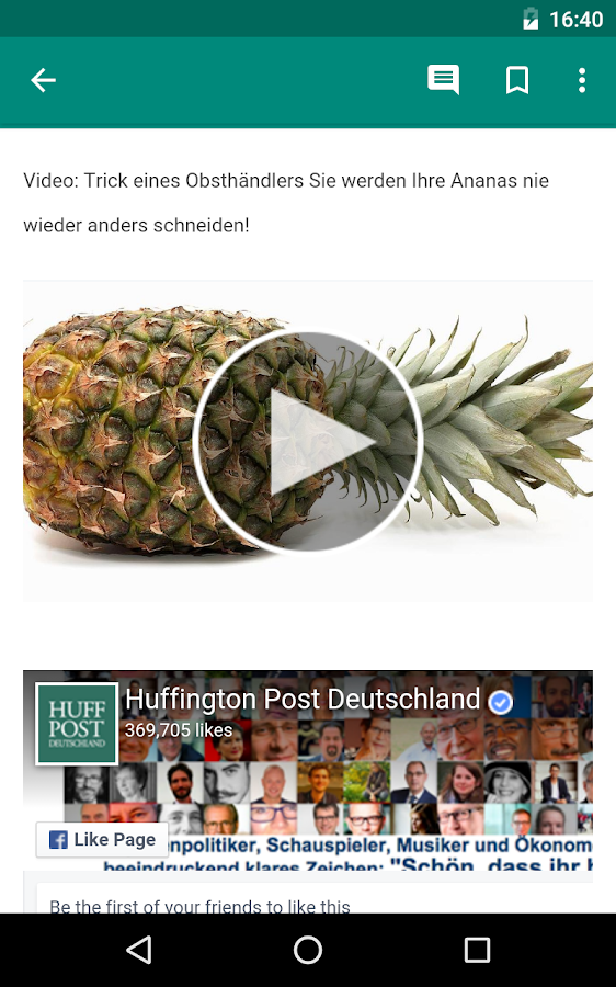 Le Huffington Post – Screenshot